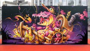Abys | Underground Effect | Urban Week | Paris - La Defense | 2020 | Street Art Addict