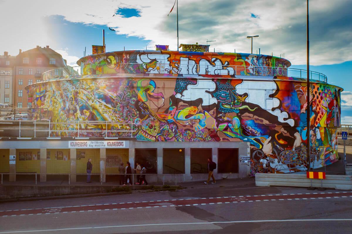 Amara Por Dios | Mural | Stockholm | 2015