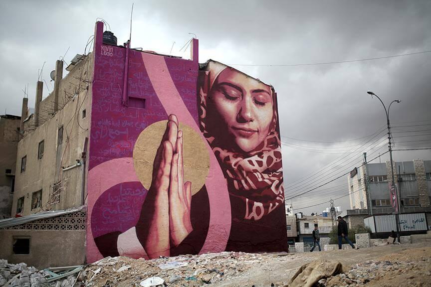 Kevin Ledo | Mural | aptART, Jordan | 2016