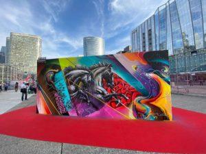 Kraser Tres | Underground Effect by Projet SAATO - Urban Week | Paris La Defense | 2020