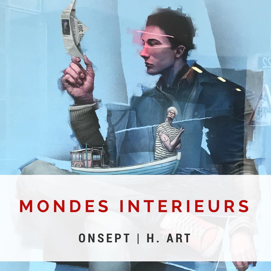 Onsept   Expo « Mondes intérieurs »   Paris, France   2018