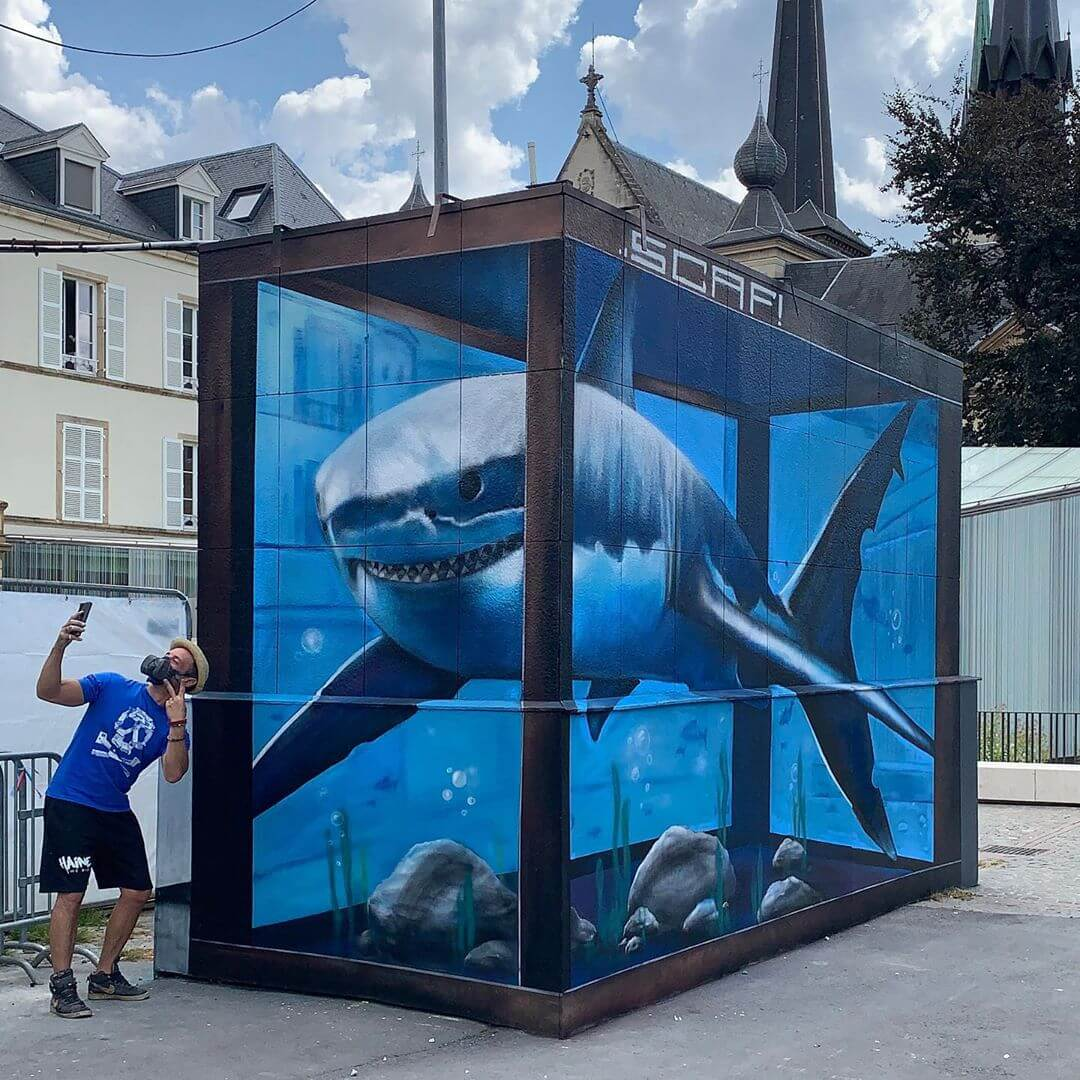 SCAF | Mural | Luxembourg | 2020