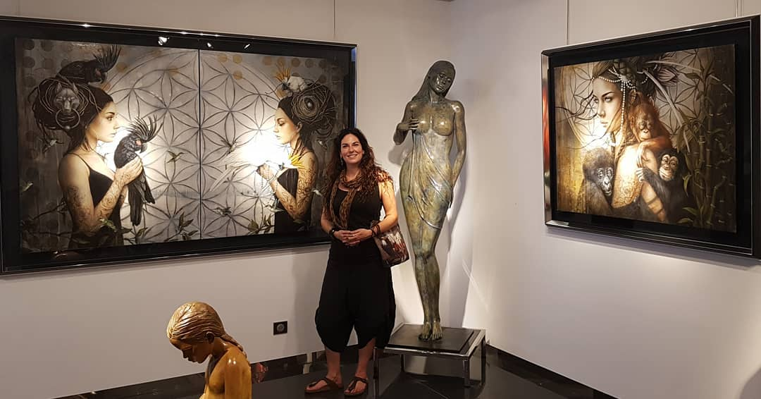 Sophie Wilkins   Expo Galerie Bartoux   France   2018